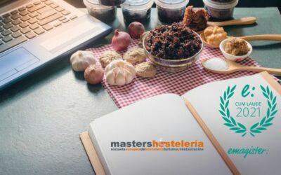 Masters Hostelería consigue el Sello Cum Laude 2021