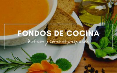 Fondos de cocina para preparar platillos con sabor auténtico