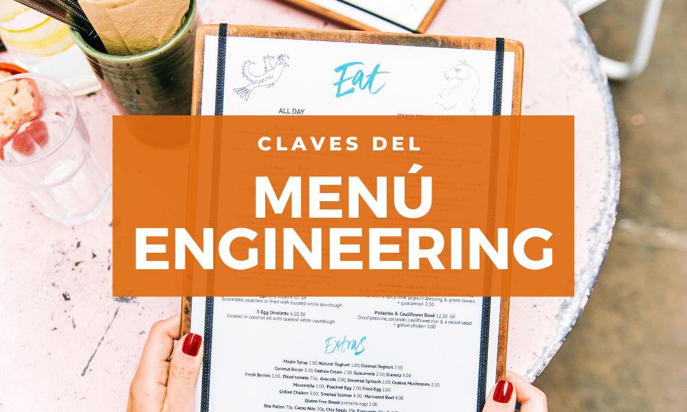 Claves para hacer un menú engineering