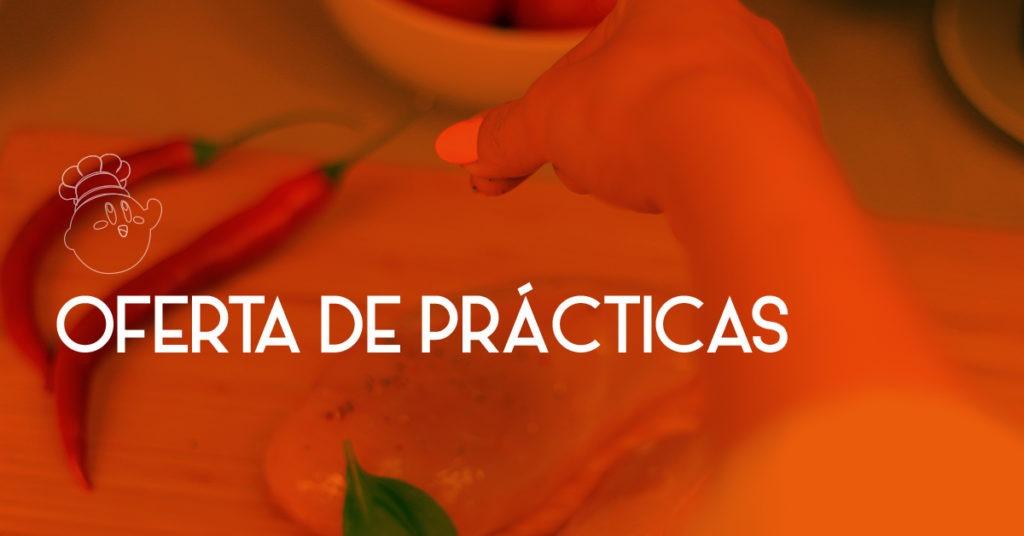 OFERTA DE PRÁCTICAS: HOSTELERÍA Y RESTAURACIÓN